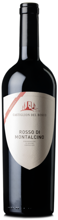 Bottle of Rosso di Montalcino Gauggiole produced by Castiglion del Bosco Winery