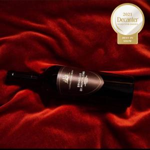 Best in Show Decanter World Wine Award